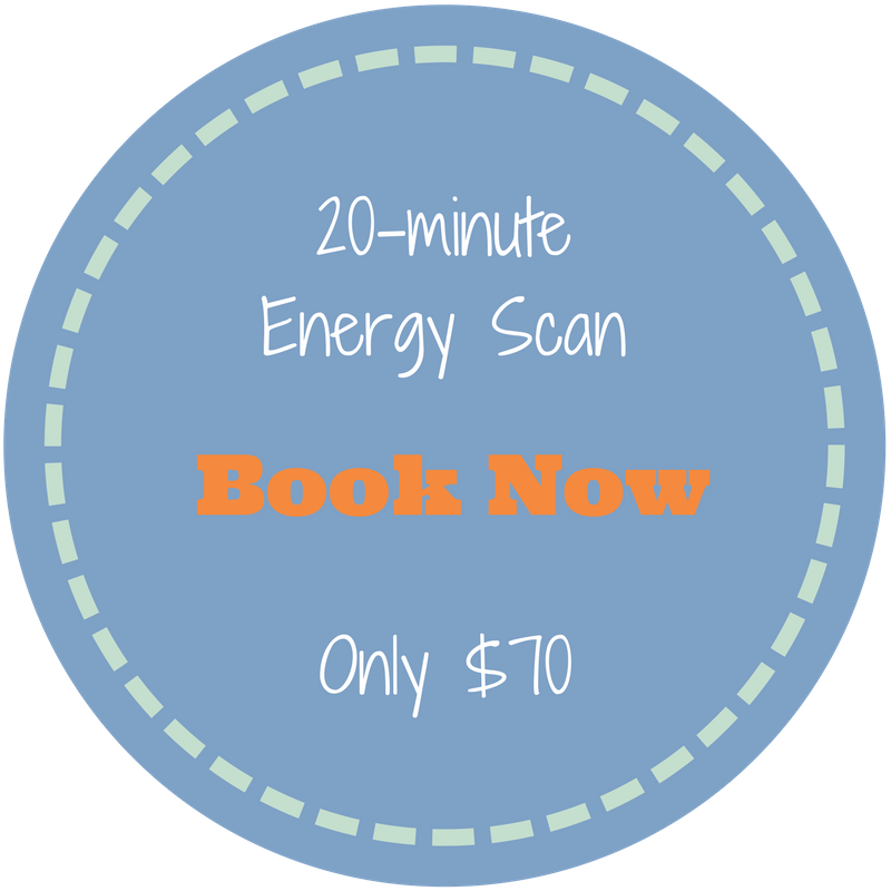 Click here to book a 20 minute energy scan now