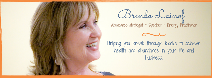 speaker, abundance strategist, remove your money blocks, clarity, energy practitioner, emotion code healer Brenda Lainof
