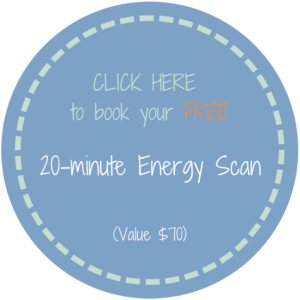 20 minute energy scan - FREE SESSION value $70 with Brenda Lainof
